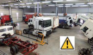 la prévention des risques professionnels pour les concessionnaires poids lourds et camion