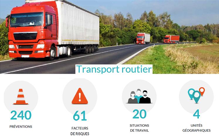 Cent cinquante préventions supplémentaires pour le transport routier